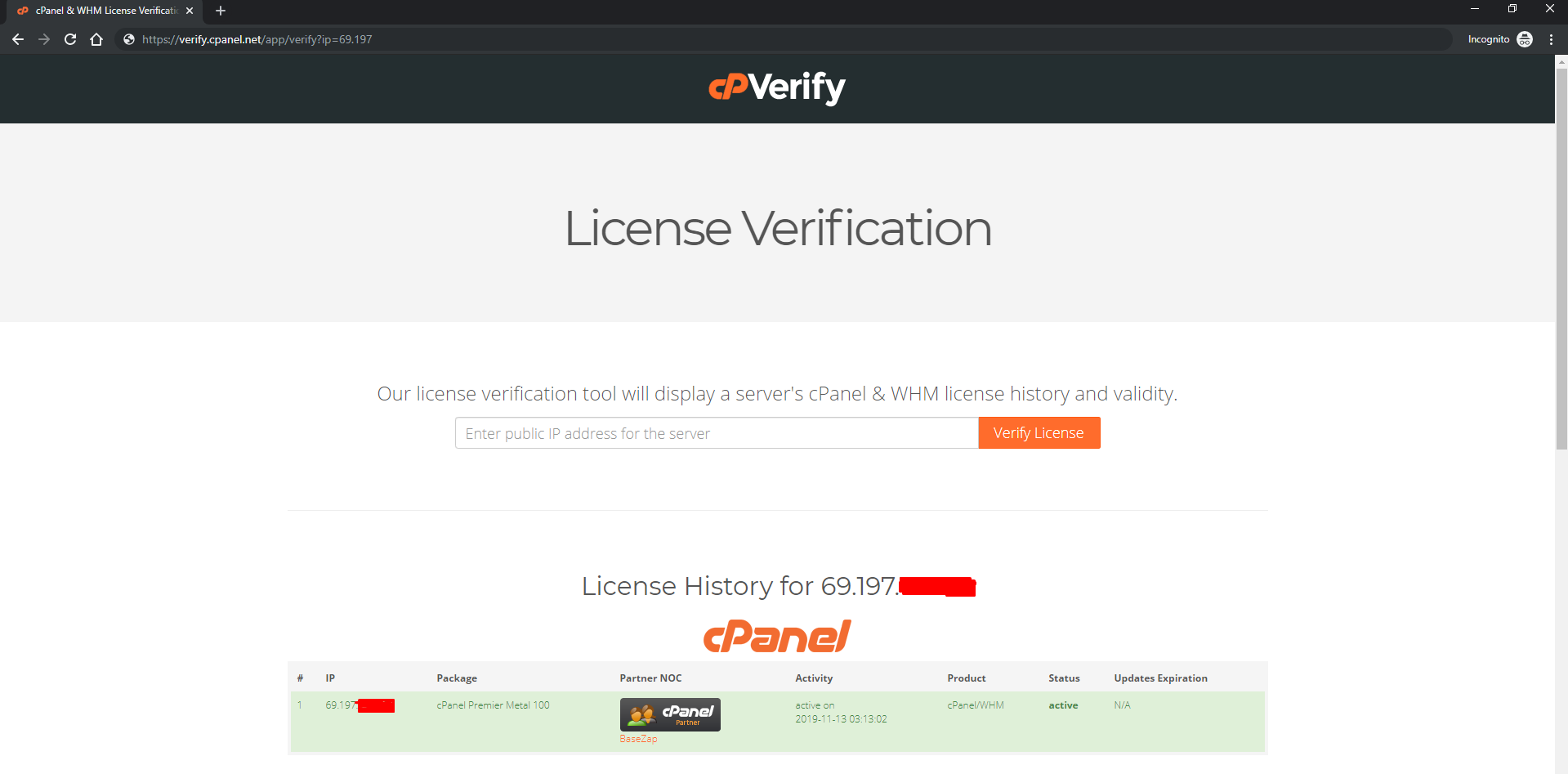 license checker