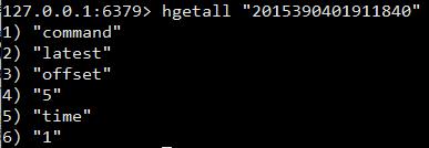 hgetall key