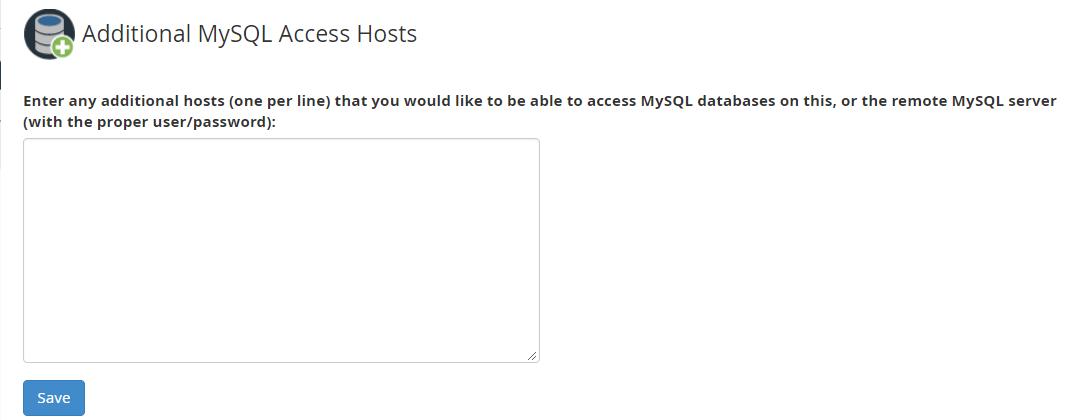 additional sql hosts