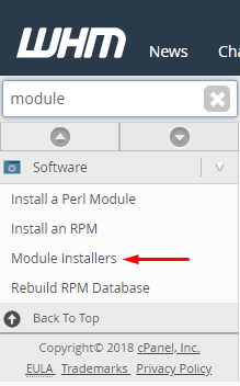module installers