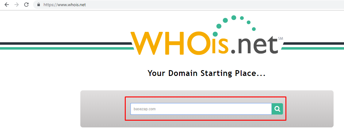 whois homepage