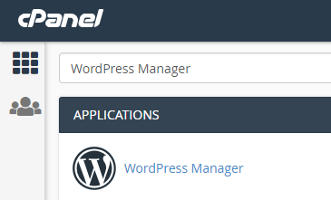 wordpress manager cpanel