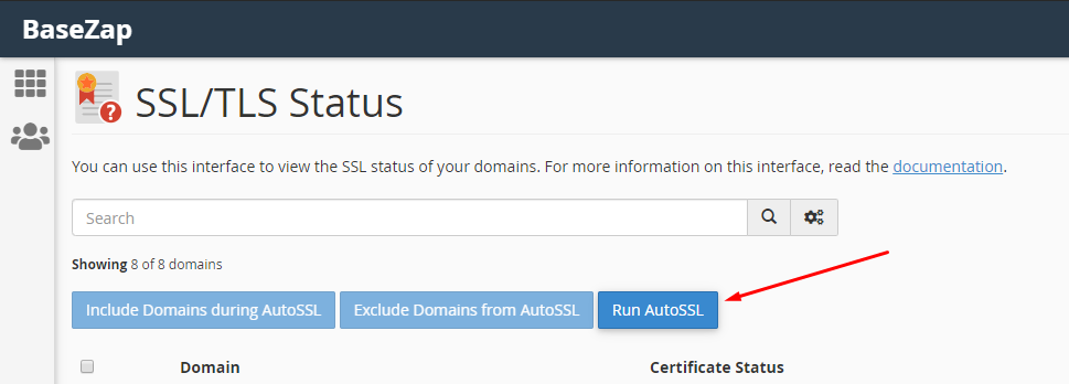 issue ssl on cpanel using autossl