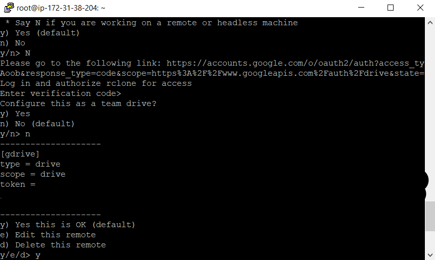 install Rclone Linux